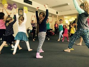 Kids Yoga Parties at Inspire Yoga and Wellbeing